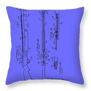 Adjustable Shotgun Choke Control Patent Throw Pillow