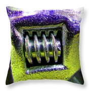Adjustable Wrench B Throw Pillow