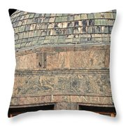 Adler Planetarium Signage Throw Pillow