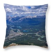 Admiring The View Throw Pillow