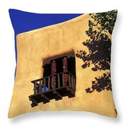 Adobe And Ristras Throw Pillow