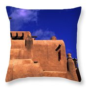 Adobe Architecture Throw Pillow