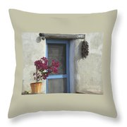 Adobe Home In Ft. Lowell Throw Pillow