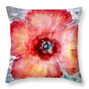 Adobe Poppy Throw Pillow