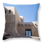 Adobe Sky Throw Pillow