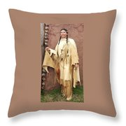 Adobe Wall Throw Pillow