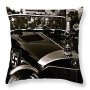 Adolf Hitler's 1941 Mercedes-benz 770-k Touring Car Sold At Auction Scottsdale Arizona 1973 Throw Pillow