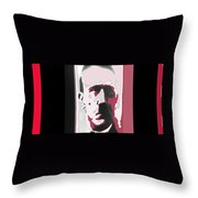 Adolph Hitler Collage Close-up Circa 1933-2009  Throw Pillow