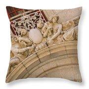 Adolphus Hotel - Dallas #3 Throw Pillow