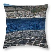 Adriatic Sea Throw Pillow