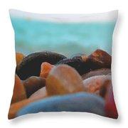 Adriatico Preistorico Throw Pillow