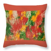 Advent Of Spring Throw Pillow