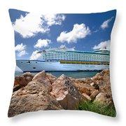 Adventure Of The Seas Throw Pillow