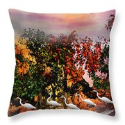 Adventure Pros Throw Pillow by Betsy Knapp