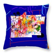 Benefit Of Concealment 1 One Throw Pillow