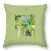 Benefit Of Concealment 1aa Throw Pillow