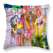 Benefit Of Concealment 1b Throw Pillow