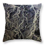 Aerial Photography Throw Pillow