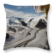 Aerial View From Bush Plane Throw Pillow