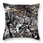 Aerial View Of London 3 Throw Pillow