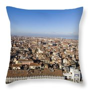 Aerial View Of Venice Throw Pillow
