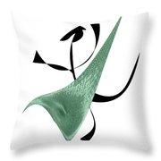 Aerobic Skill Throw Pillow