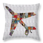 Aeroplane Fly Showcasing Navinjoshi Gallery Art Icons Buy Faa Products Or Download For Self Printing Throw Pillow