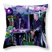 Aerosmith-brad-00134 Throw Pillow