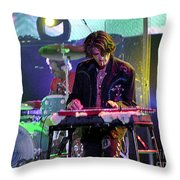 Aerosmith-joe Perry-00124 Throw Pillow
