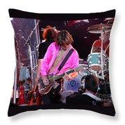 Aerosmith - Joe Perry -dsc00121 Throw Pillow