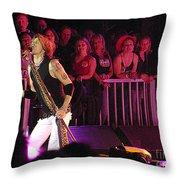 Aerosmith-steven Tyler-00074 Throw Pillow