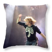 Aerosmith-steven Tyler-00193 Throw Pillow