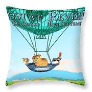 Aerostat Reveillion Throw Pillow