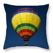 Aerostatic Balloon Throw Pillow