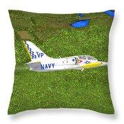 Aerovodochody L39. Throw Pillow