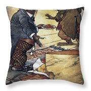 Aesop: Town And Country Throw Pillow