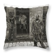 Affable Throw Pillow