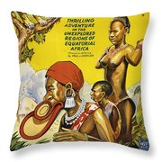 Africa Speaks Throw Pillow