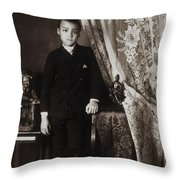 African American Boy, C1899 Throw Pillow