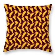 African Buddha Throw Pillow