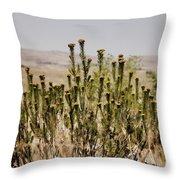 African Bushland Throw Pillow
