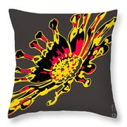 African Daisy Throw Pillow
