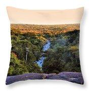 African Forest Throw Pillow