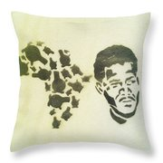 African Icon Throw Pillow