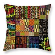 Afroecletic I Throw Pillow