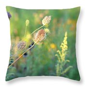 After August Throw Pillow
