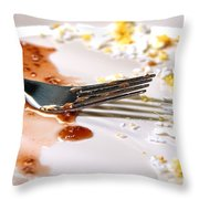 After Breakfast  Throw Pillow