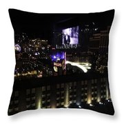 After Dark In 2008 Throw Pillow