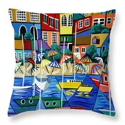 After Hours Throw Pillow by Anthony Falbo