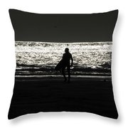 After Hours Throw Pillow